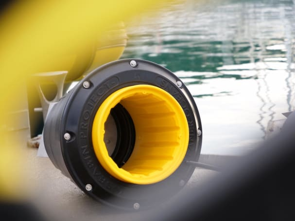 The UK gets its first ocean-cleaning 'Seabin'