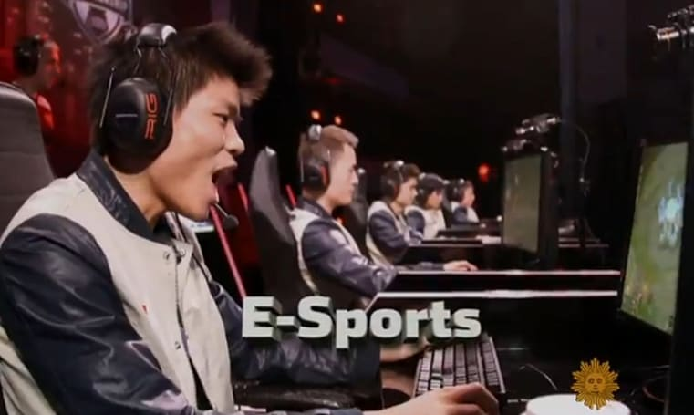 CBS looks at the rise of spectator e-sports