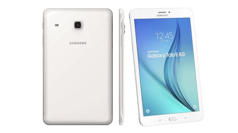 入門平價款 Galaxy Tab E 8.0 平板電腦在台登場