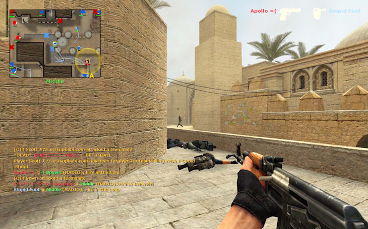 You can use a tube of lipstick to play 'Counter-Strike'