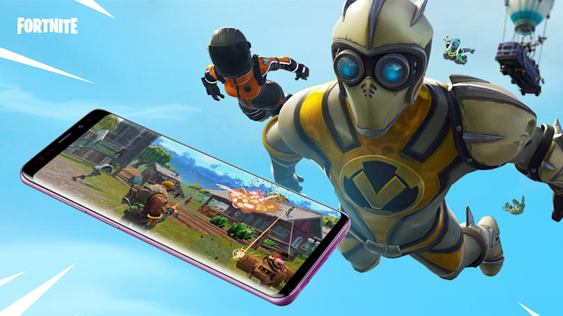 'Fortnite' is now available on Samsung Galaxy phones