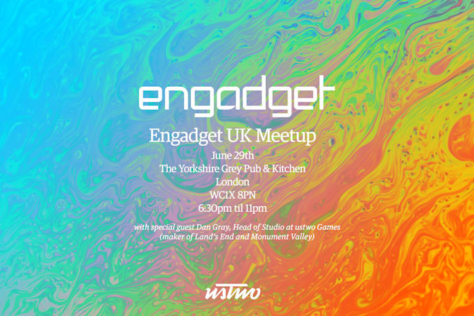 Come join us for the first Engadget UK Meetup!