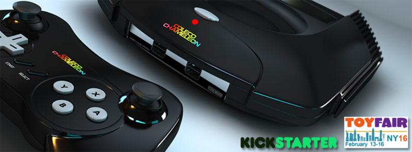 Coleco Chameleon retro game console heads to Kickstarter