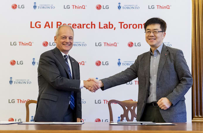 LG's newest AI research lab will open in Toronto