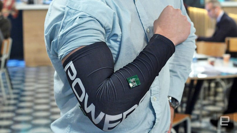 Smart sleeve warns you of impending forearm injuries