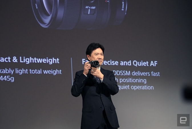 索尼未来两年为 Alpha 无反相机准备了 12 款 E 卡口新镜头