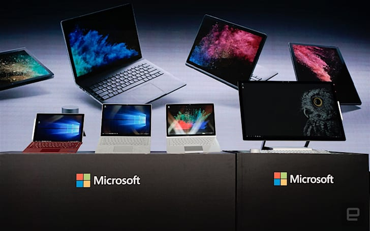 微軟 Surface Book 2 登台,Surface Studio 確認 3 月推出