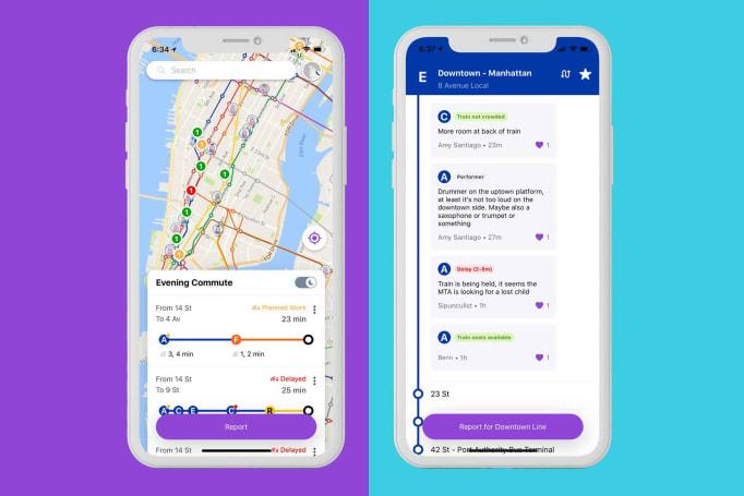 Google incubator's New York City subway app offers Waze-like alerts