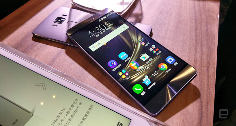 ASUS ZenFone 3 Deluxe gets first dibs on Snapdragon 821 chip