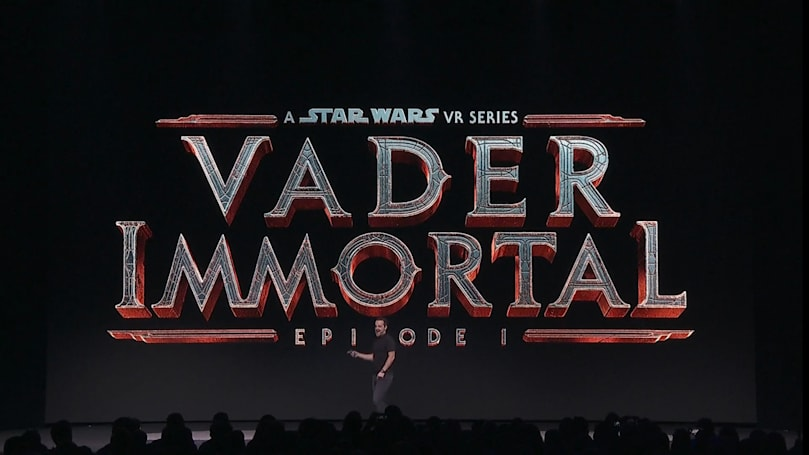 《Vader Immortal:星战 VR 系列》将登陆 Oculus Quest