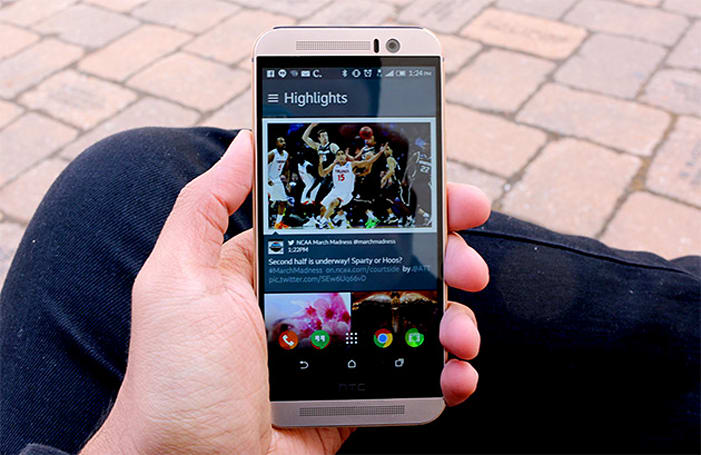 HTC brings the One M9's software tricks to its older devices