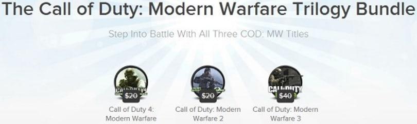 Joystiq Deals: Modern Warfare trilogy