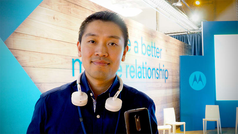 Motorola's software chief on talking to phones and life after Google