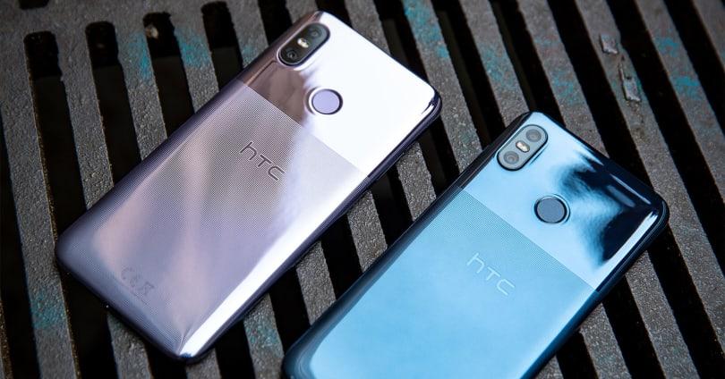 HTC's U12 Life has a slick half-and-half texture finish