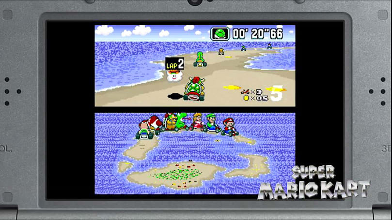 Nintendo makes SNES games exclusive to 'New' Nintendo 3DS