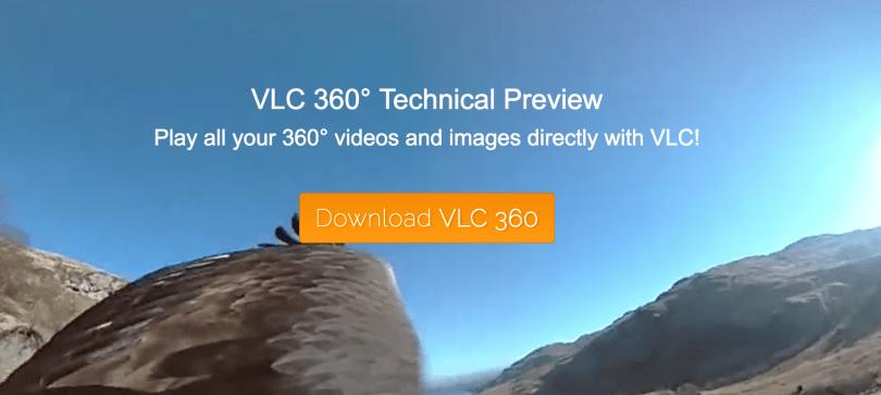 VLC 播放器也要支援 360 度影片播放了