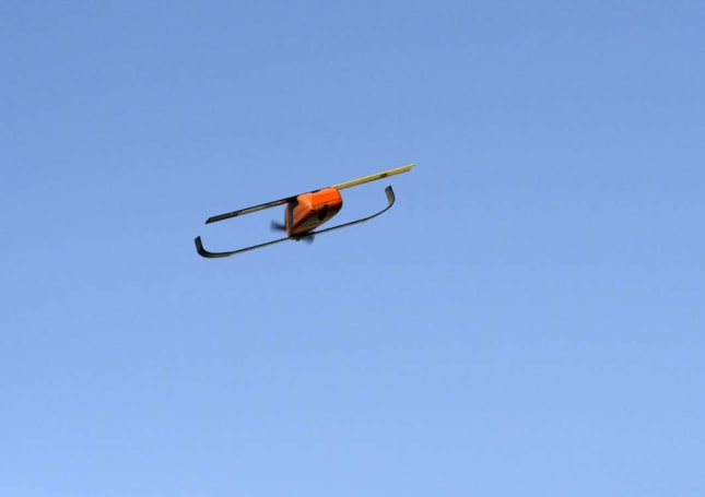 DoD shows off its first successful micro-drone swarm launch