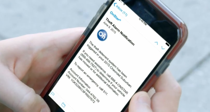 GM adds real-time theft alerts to OnStar