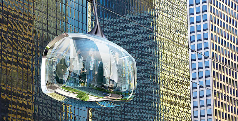 Inhabitat's Week in Green: Chicago's high-flying cable cars