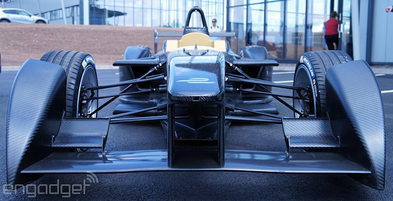 After two years of prep, Formula E cars are here and ready to race