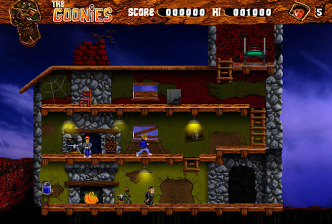 The Goonies returns with new graphics, sound, $0 price tag