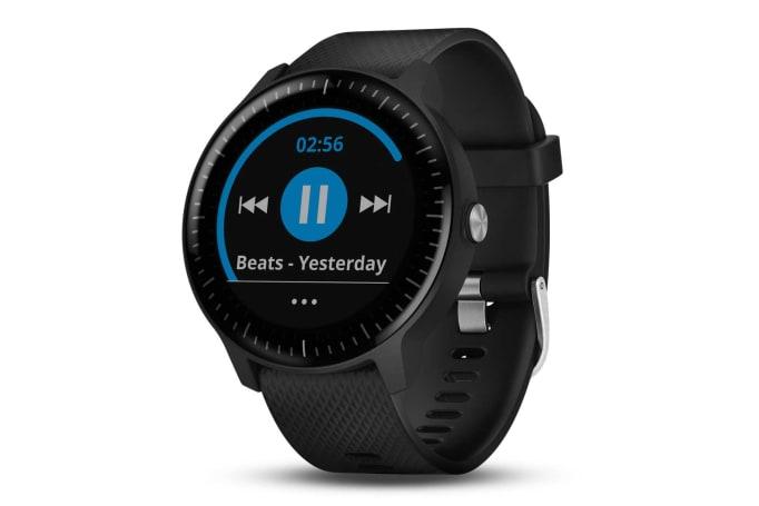Garmin 带来能听音乐的 Vivoactive 3 Music