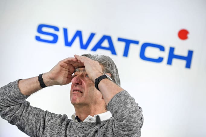 Swatch is working on its own smartwatch operating system