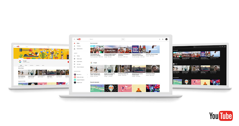 YouTube's latest redesign puts added focus on videos