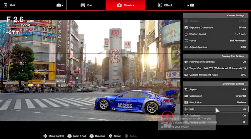 'Scape' mode in 'GT Sport' is basically Lightroom in a racing game