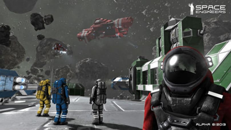 Joystiq Streams: Space Engineers and the horror of the void [UPDATE: Relive the stream!]