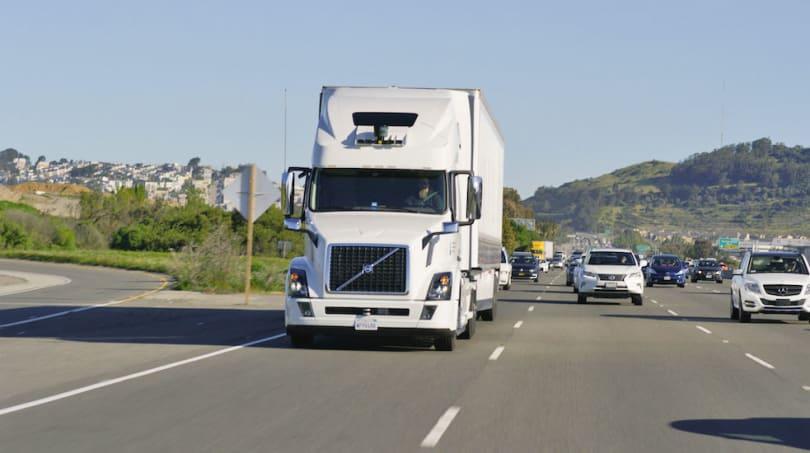 Uber shows off its upgraded fleet of autonomous trucks