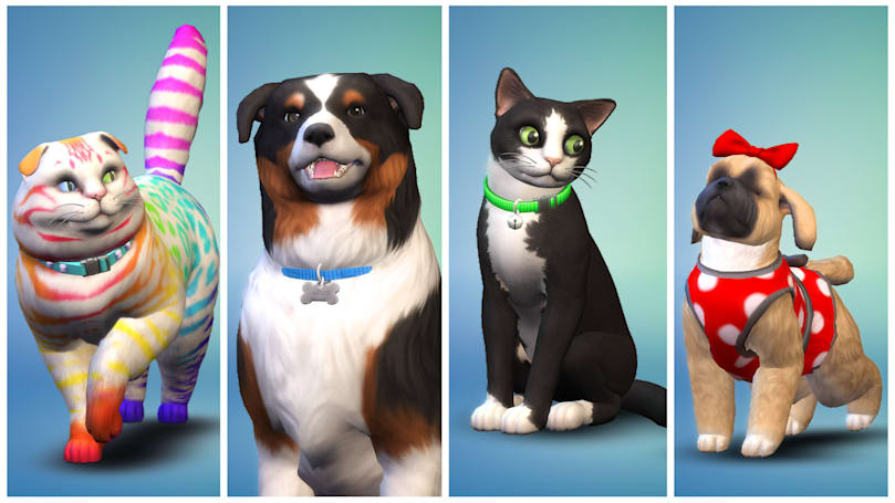 'The Sims 4 Cats & Dogs' promises biggest-ever pets expansion