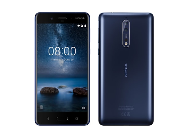 Here's a sneak peek at Nokia's first high-end Android phone