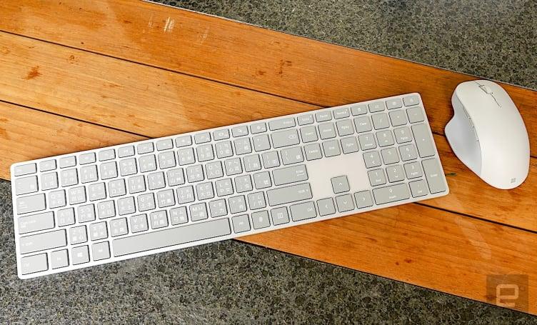 微軟 Surface 精準滑鼠與具備指紋辨識功能的時尚鍵盤評測
