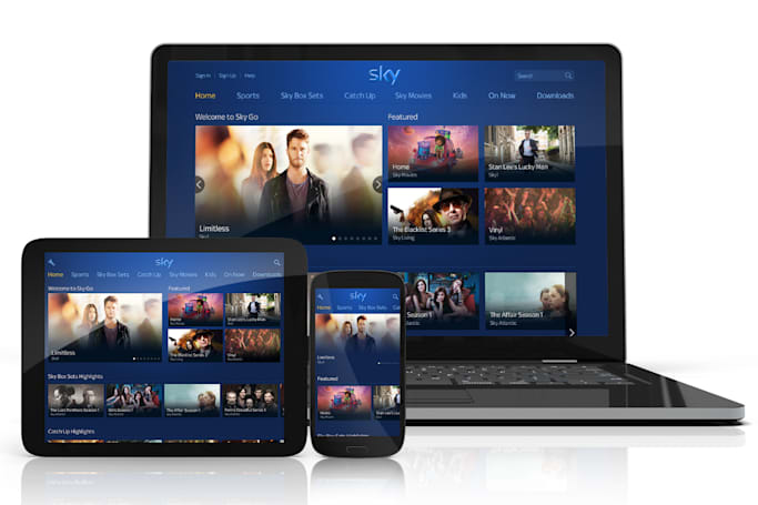 Sky Go gets a brand new look