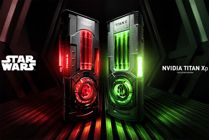 NVIDIA GPUs are 'Star Wars' merch now