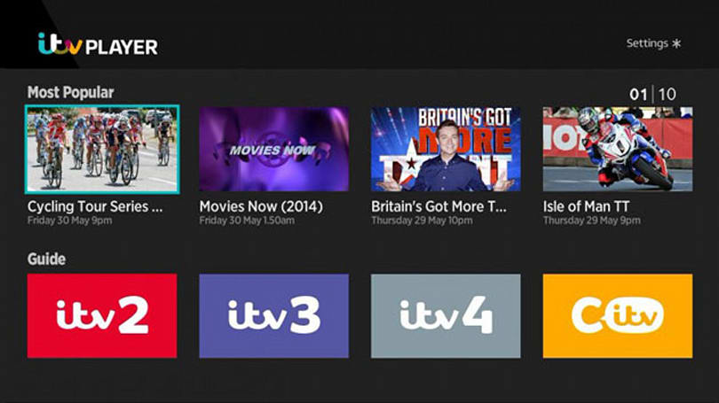 ITV Player comes to Roku and Now TV streaming devices from today