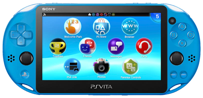 Sony's aqua blue PS Vita hits GameStop November 2nd
