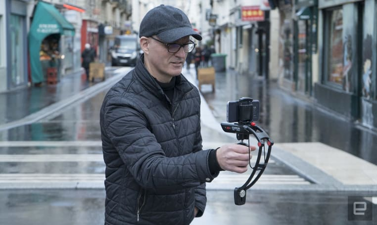 Steadicam Volt's cinematic smartphone stabilizer is a little fiddly