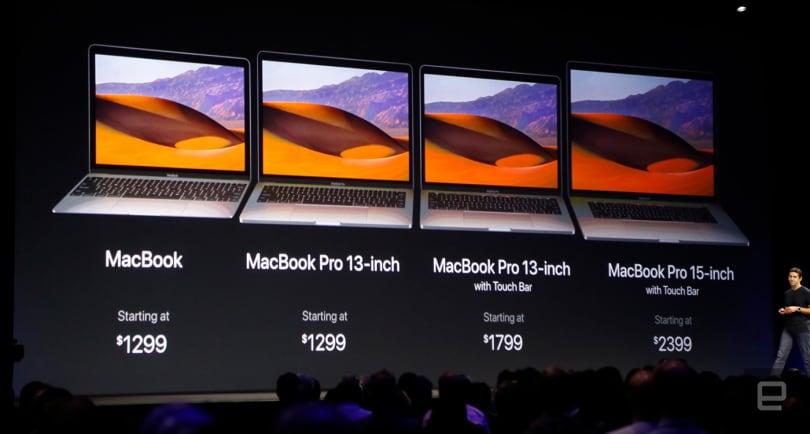 苹果「小更新」MacBook / MacBook Pro 全系列产品