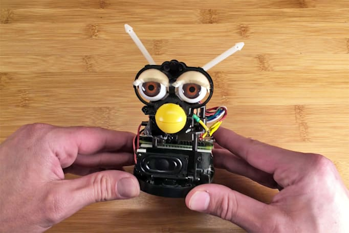This DIY Furby Echo speaker will probably give you nightmares