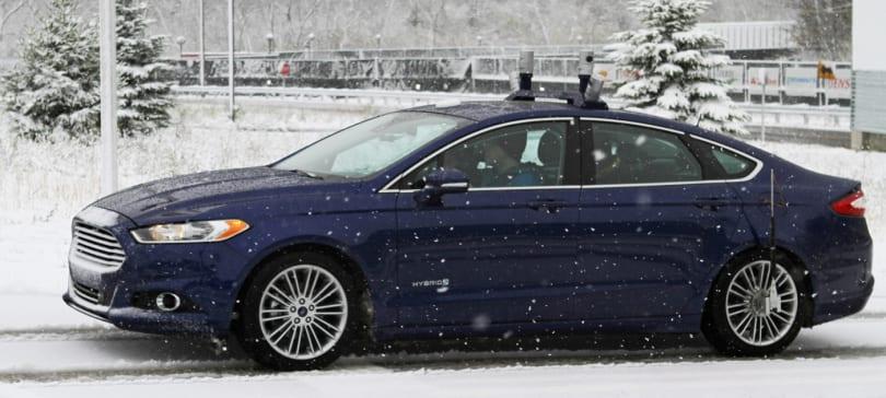 Ford 開始在雪中為自動駕駛汽車作測試
