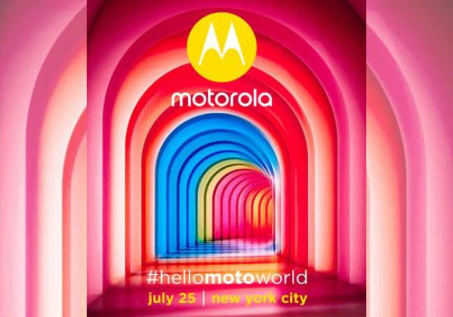 Motorola may introduce its X4 phone on July 25th