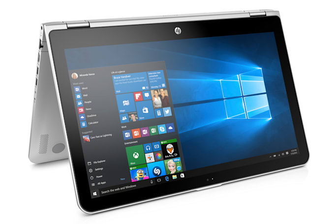 HP's new Pavilion PCs include a 15-inch hybrid laptop