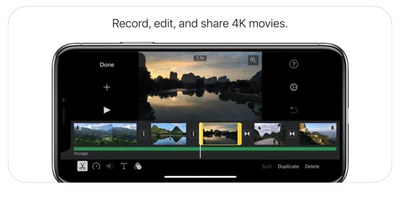 iOS 版 iMovie 终于完全适配 iPhone X