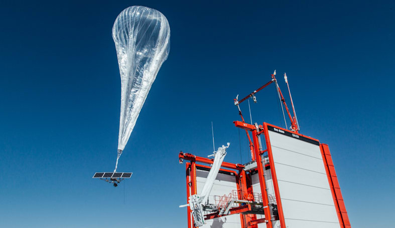 Project Loon's LTE balloons are floating over Puerto Rico