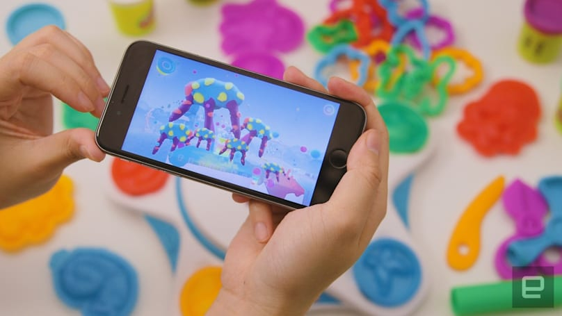Play-Doh's new toy-to-life app is pointless but fun