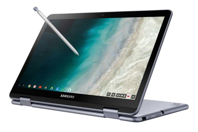 Samsung's Chromebook Plus V2 adds an Intel processor and rear camera