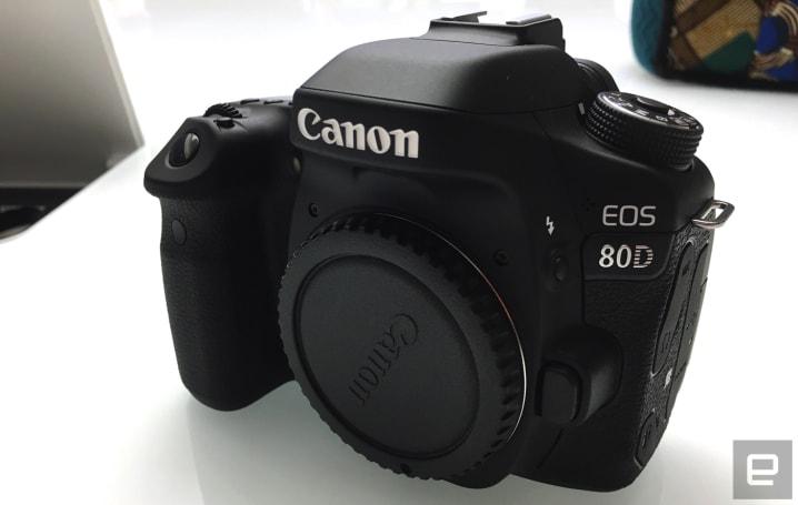 Canon's EOS 80D DSLR is designed for the semi-pro crowd