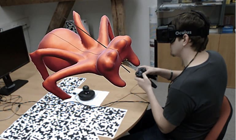 VRClay marries the Oculus Rift and motion control for easy 3D sculpting